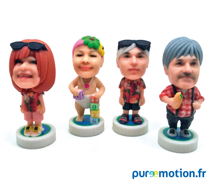Figurines 3D - puremotion